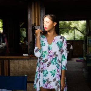 Creatures of Wilde Tunic at Coco Mango Store in Waikiki Hawaii